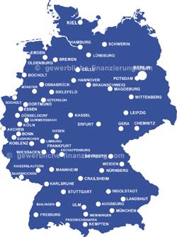 Gewerbeimmobilien in Deutschland