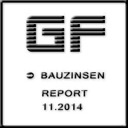 Bauzinsen Entwicklung / Prognose November 2014