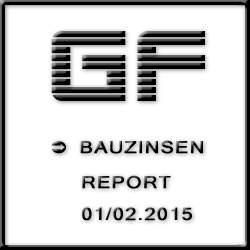 Bauzinsen-Entwicklung 2015 – EZB plant keine kurzfristige Zinsanhebung