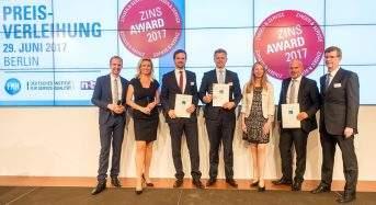Top-Zinsen und Top-Service: Dr. Klein erhält den Zins-Award 2017 für Baufinanzierungen
